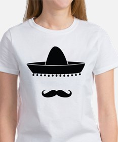 Mexican moustache Women's T-Shirt