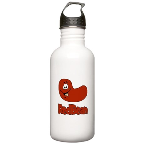 Red Bean & Rice Stainless Water Bottle 1.0L