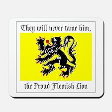 Proud Flemish Lion Mousepad