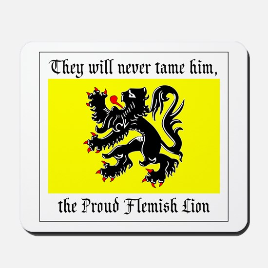 Proud Flemish Lion Mousepad