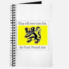 Proud Flemish Lion Journal