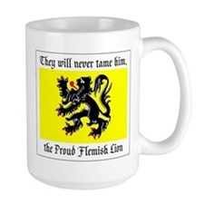 Proud Flemish Lion Mug