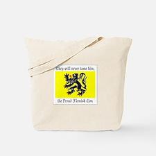 Proud Flemish Lion Tote Bag