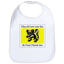Proud Flemish Lion Bib