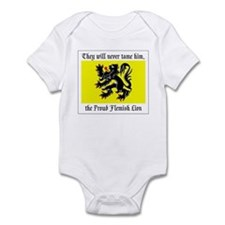 Proud Flemish Lion Infant Creeper