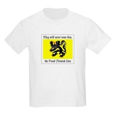 Proud Flemish Lion Kids T-Shirt