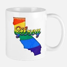 Gilroy, California. Gay Pride Mug