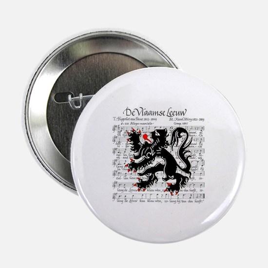 "Flemish Lion Sheet Music 2.25"" Button (10 pack)"