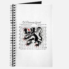 Flemish Lion Sheet Music Journal