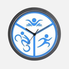 Triathlon Wall Clock