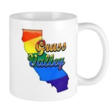 Grass Valley, California. Gay Pride Mug