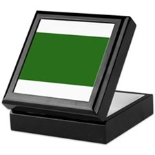Libya Libyan Blank Flag Keepsake Box