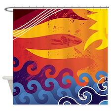 Sun and Sea Shower Curtain