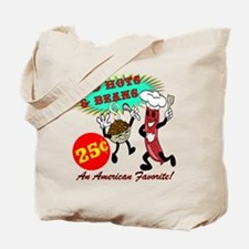 Red Hots Retro 50's Diner Tote Bag