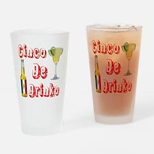 Cinco De Drinko Drinking Glass