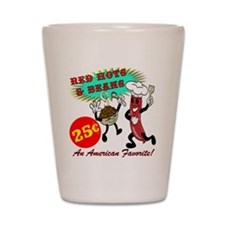 Red Hots Retro 50' Diner Shot Glass