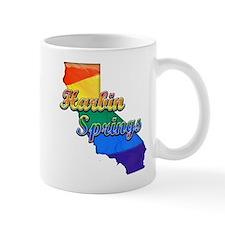Harbin Springs, California. Gay Pride Mug