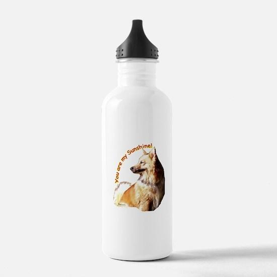 icelandic sheepdog Water Bottle