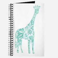 Robin's Egg Giraffe Journal