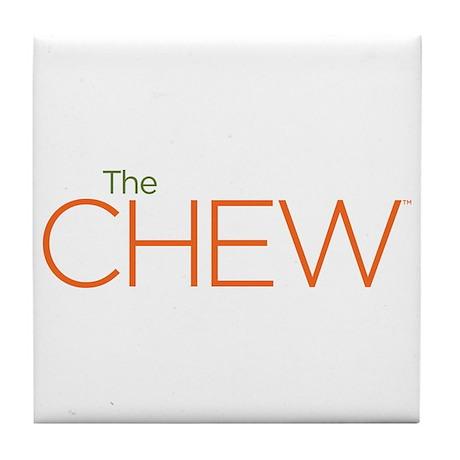 The Chew Tile Coaster