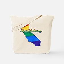 Healdsburg, California. Gay Pride Tote Bag