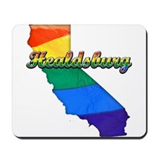 Healdsburg, California. Gay Pride Mousepad