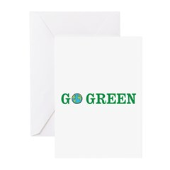 Go Green Merchandise Greeting Cards (Pk of 20)