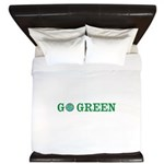 Go Green Merchandise King Duvet