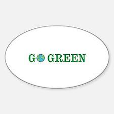 Go Green Merchandise Decal