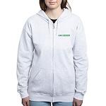 Go Green Merchandise Women's Zip Hoodie
