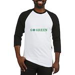 Go Green Merchandise Baseball Jersey