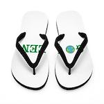 Go Green Merchandise Flip Flops