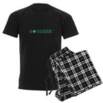 Go Green Merchandise Men's Dark Pajamas