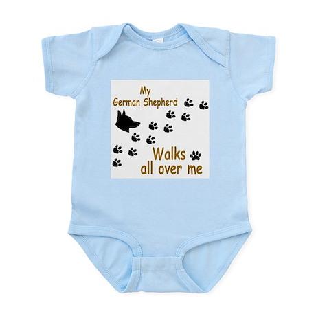 GSD Pawprint Infant Bodysuit