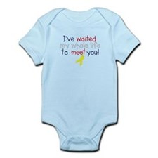 Waited my whole life Infant Bodysuit