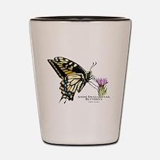 Anise Swallowtail Butterfly Shot Glass