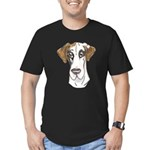 NFQ Pup Men's Fitted T-Shirt (dark)