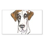 NFQ Pup Sticker (Rectangle 10 pk)