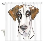 NFQ Pup Shower Curtain
