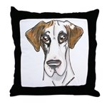 NFQ Pup Throw Pillow