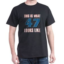 Cool 47 year old birthday designs T-Shirt