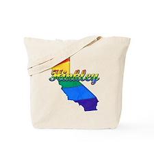 Hinkley, California. Gay Pride Tote Bag