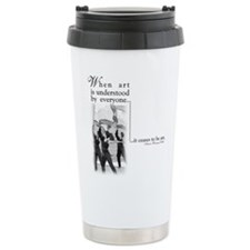 Funny Winterguard Travel Mug