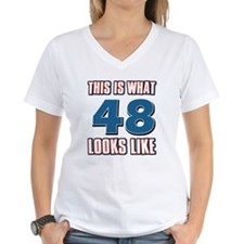 Cool 48 year old birthday designs Shirt