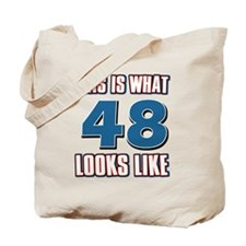 Cool 48 year old birthday designs Tote Bag