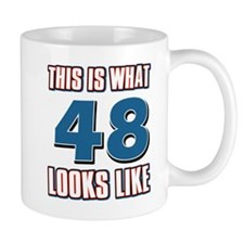 Cool 48 year old birthday designs Mug