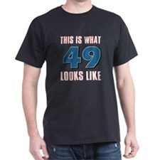 Cool 49 year old birthday designs T-Shirt