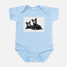 Scottie Dogs Infant Bodysuit