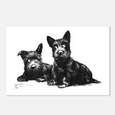 Scottie Dogs Postcards (Package of 8)