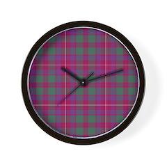 Tartan - Geddes Wall Clock